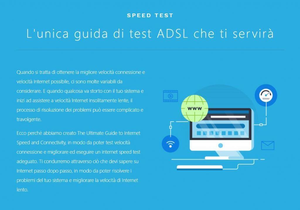 Speedcheck speed test