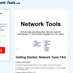 Tool di rete - Network Tools