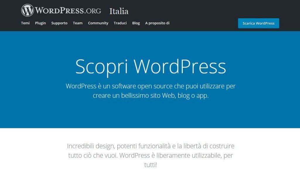 Programmazione e sviluppo - WordPress