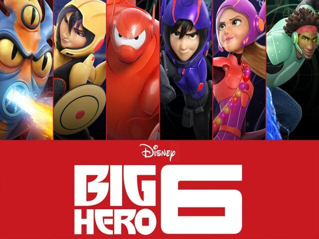 Big Hero 6 locandina